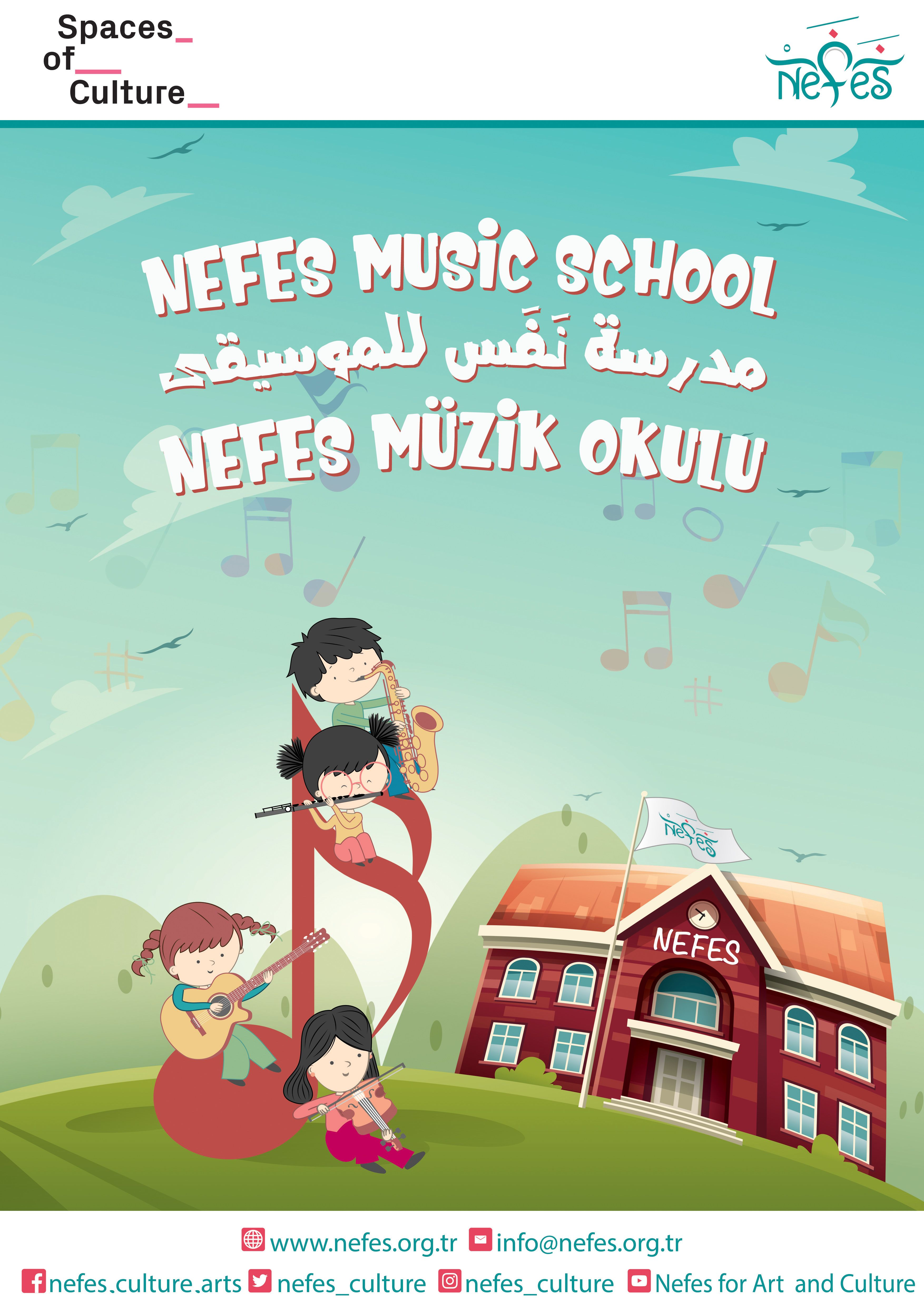 Nefes Müzik Okulu bursları
