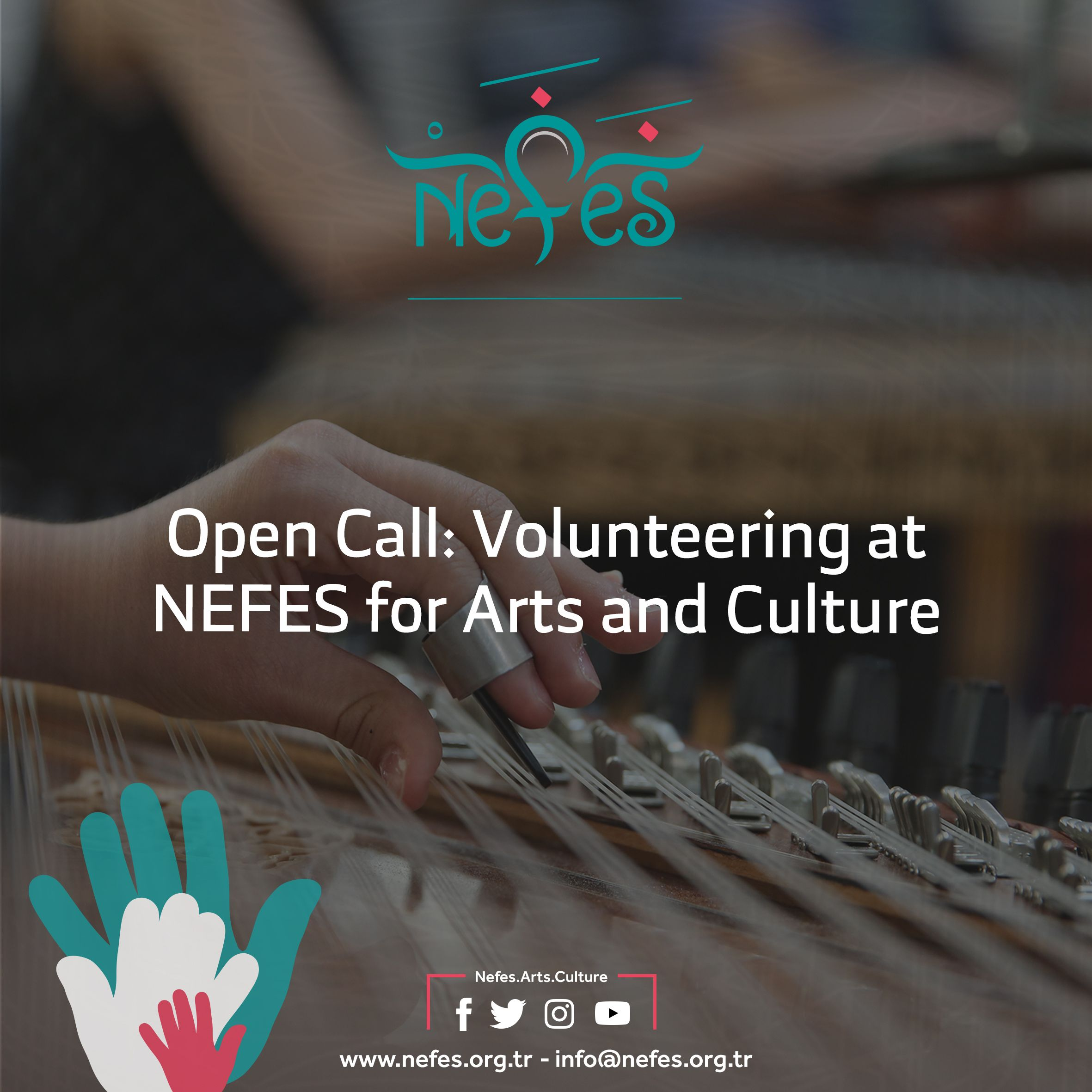 Open Call: Volunteering at NEFES for Arts and Culture